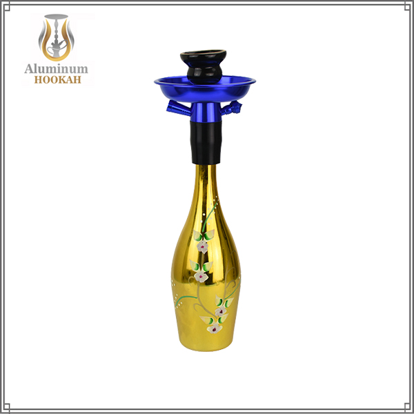 The smallest beer bottle hookah(1 Hose Hookah)