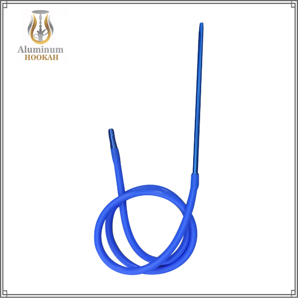 High quality aluminium hookah handle shisha hookah silicone hose Metal Mouthpiece